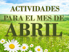 ACTIVIDADES PARA EL MES DE