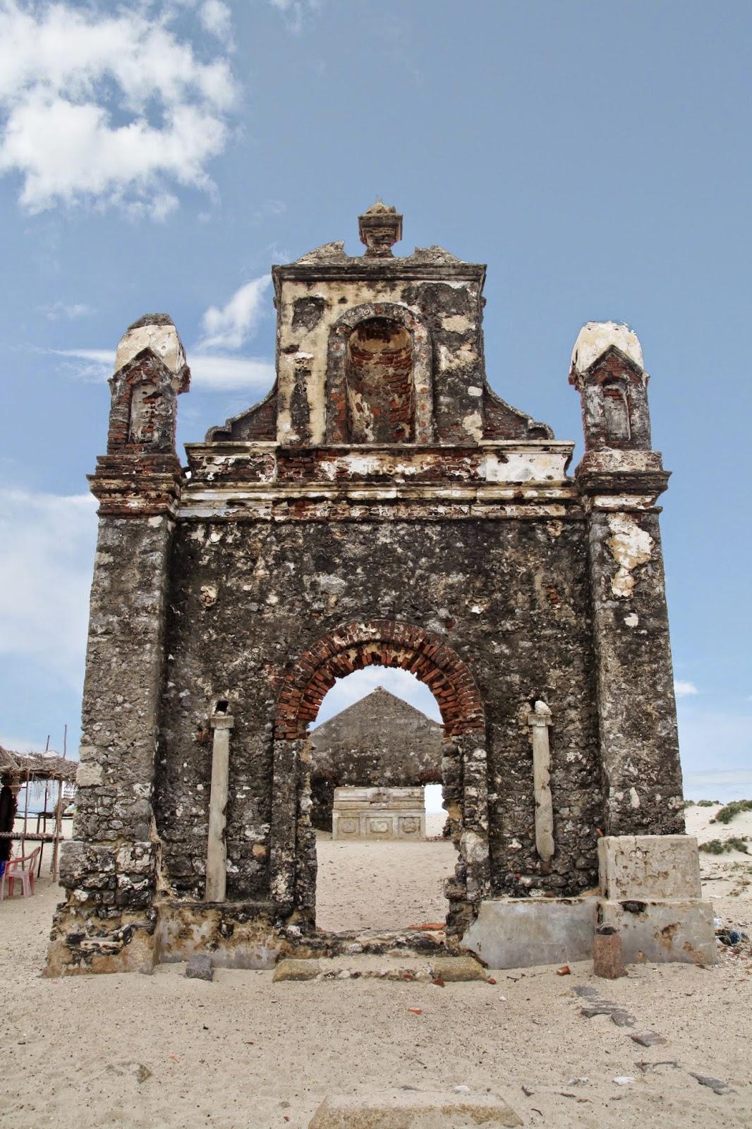 DHANUSHKODI Church