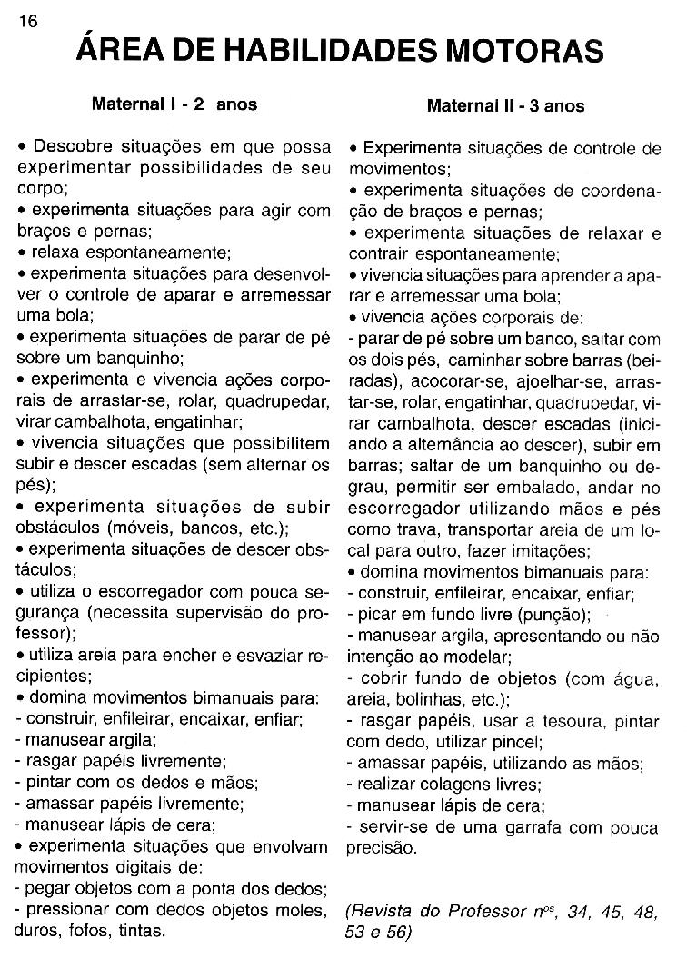 Preferência PROJETO SOCIALIZAÇÃO MATERNAL 1 E 2   Cantinho do Educador Infantil EF64