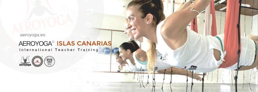 YOGA AEREO ISLAS CANARIAS, FORMACION AEROYOGA® Y AEROPILATES®