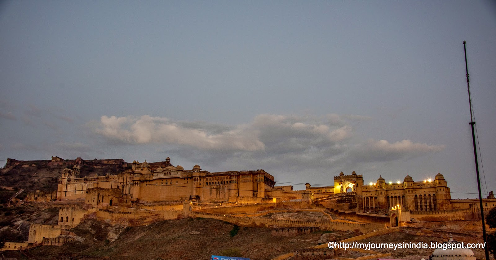 Amer Fort in Early Morning Jaipur 1