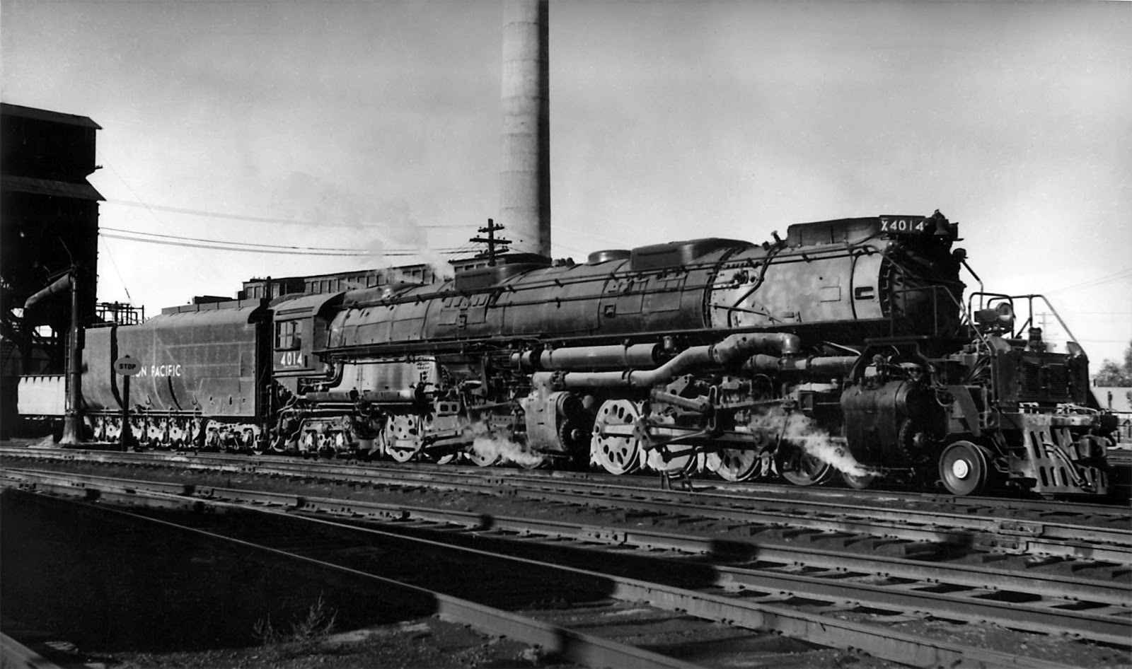 Union Pacific Big Boy Steam Locomotive