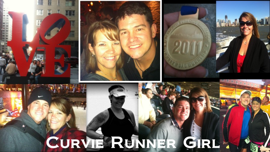 Curvie Runner Girl