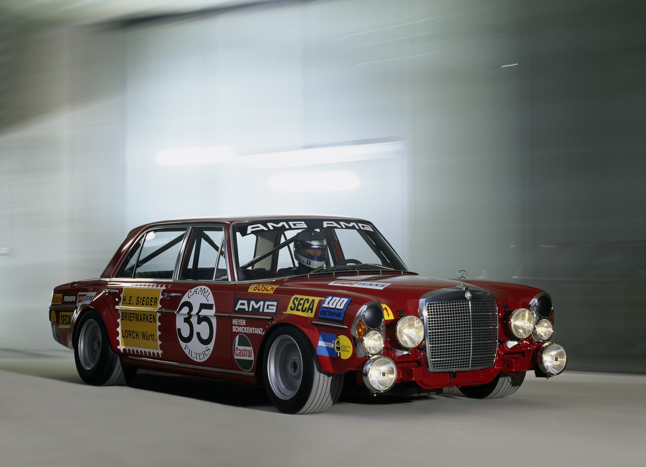 FAB WHEELS DIGEST  F W D    1971 Mercedes Benz AMG 300SEL 6 3 Race