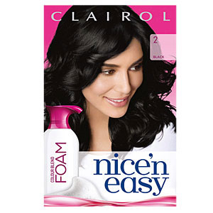 free bottle of nice n easy color blend foam hair dye i thought it