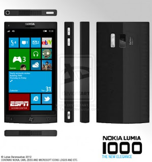 Nokia EOS Menyandang Nama Lumia 1000