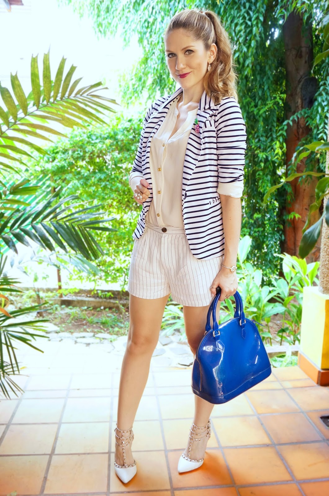 Shorts suits are a great option to look polished and chic during the Summer!