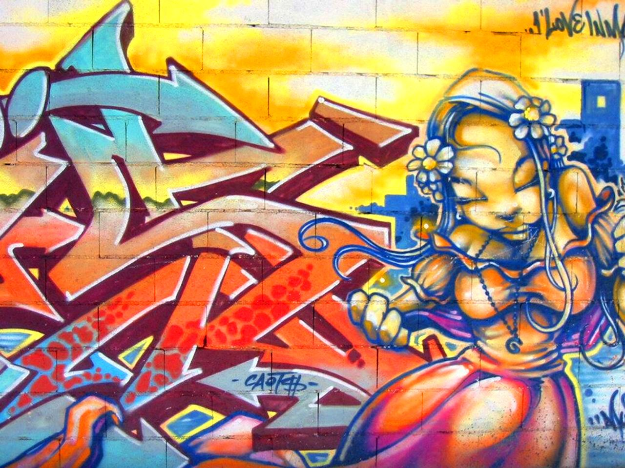Angry birds trabajos y practicas graffiti etc - Graffitis en paredes ...