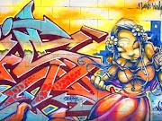 Imagen Graffiti de América y Europa En el lenguaje común, el grafiti incluye . graffiti