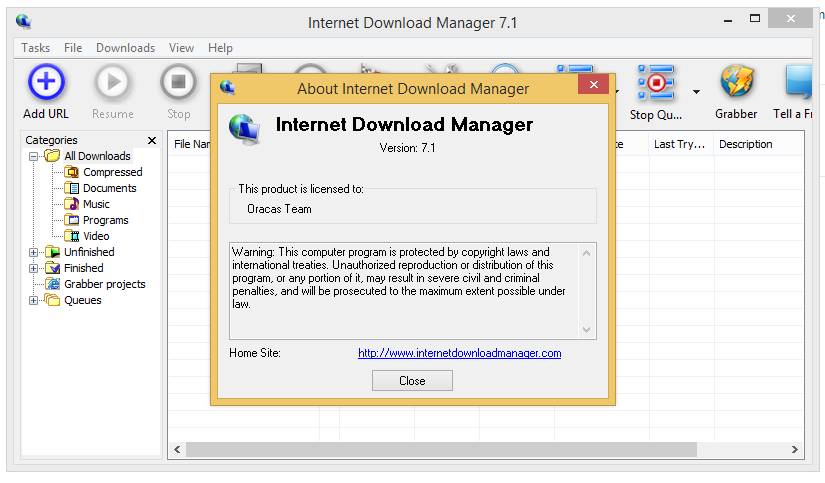 Internet Download Manager 7.1 Full Version Free Download
