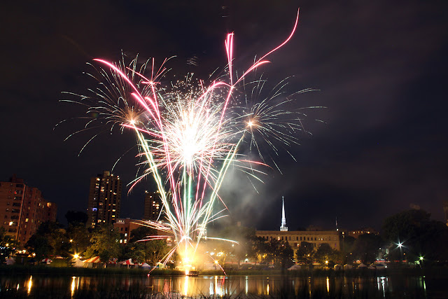 Fireworks at Loring Park