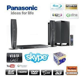 3D-Blu-ray-Heimkinosystem Panasonic SC-BTT362 bei iBood für 258,90 Euro