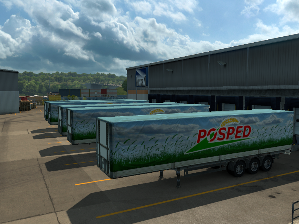 All Container Trailer | ETS2MP-MODS