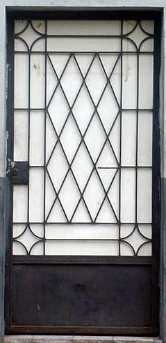 Estructuras el salvador puertas metalicas decorativas for Imagenes de puertas metalicas