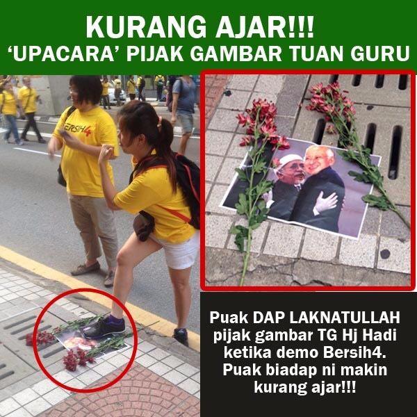 Cina Tak Tolak UMNO/BN #BERSIH4