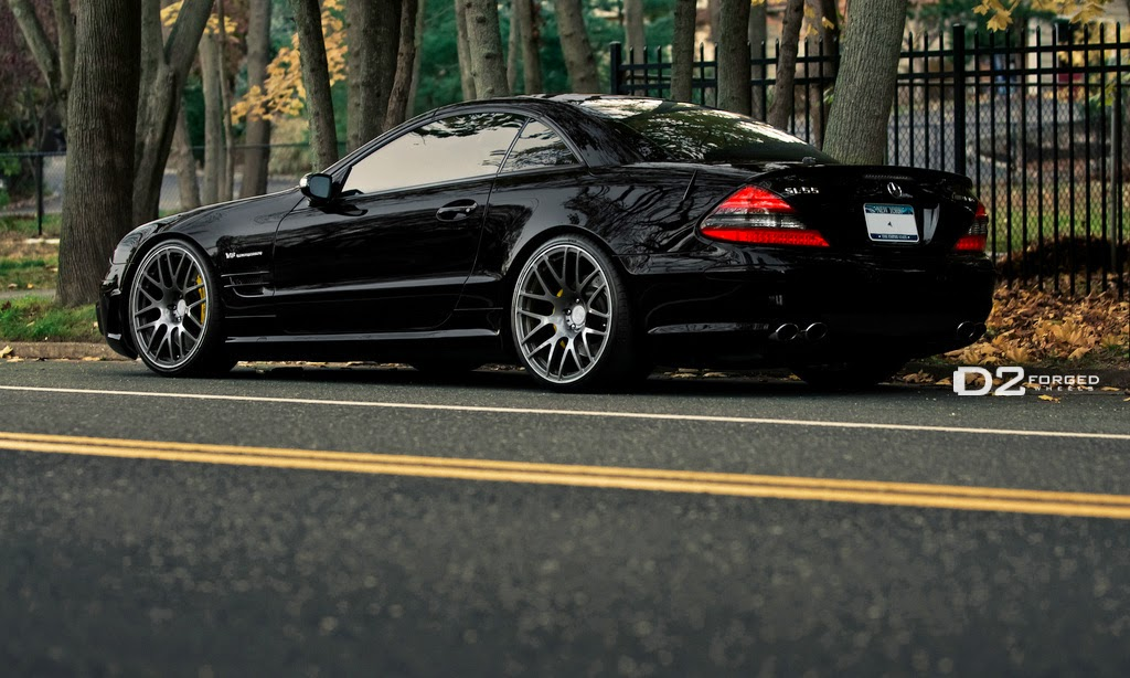 Mercedes benz r230 sl55 amg on d2forged wheels benztuning for Mercedes benz sl55