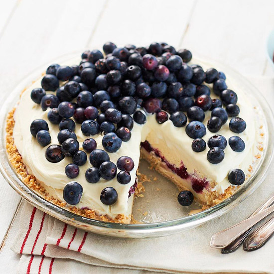 My Favorite Things: Blueberry Ice Cream Pie