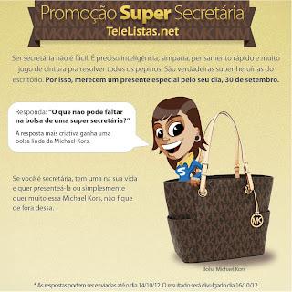 Promoção Super Secretária