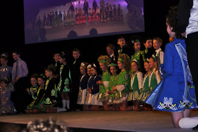 One of the many schools taking part in the 2013 World Irish Dancing Championships.