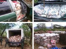FANB incauta 12.5 toneladas de alimentos que pretendían pasar a Colombia por Táchira