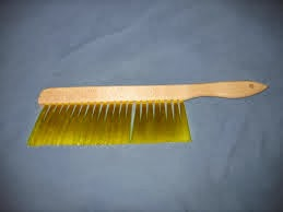 brush for gathering of honey