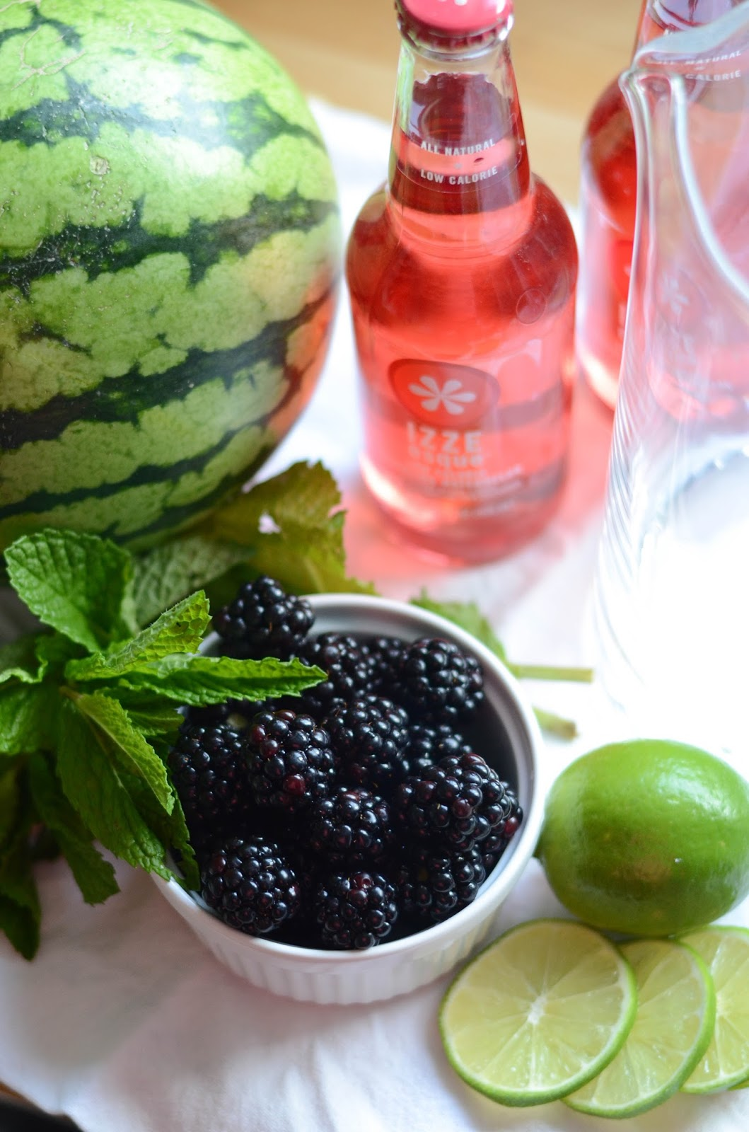 IRON & TWINE: Watermelon Sangria