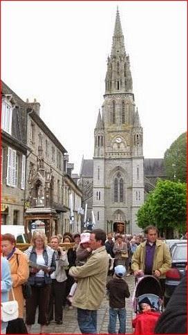Το τεμάχιο της Ζώνης της Παναγίας στο Quintin της Βρετάνης (Γαλλία). http://leipsanothiki.blogspot.be/