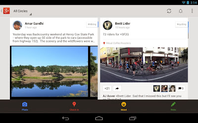 Google Plus 4.2 - Screenshot