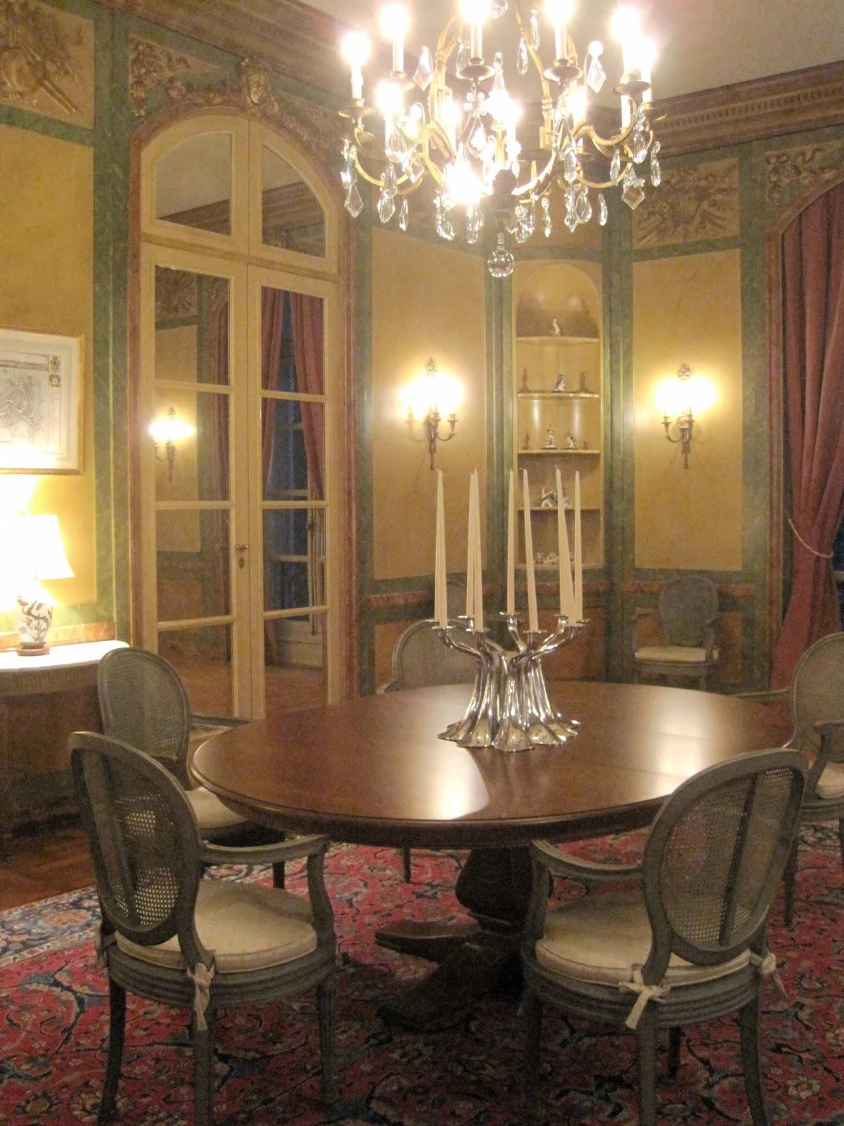 Belgian ambassador\'s residence interiors 2: Salon & Dining Rooms ...