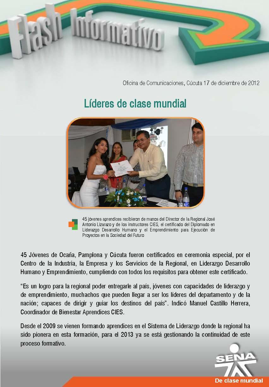 Regional norte de santander l deres de clase mundial - Oficinas santander pamplona ...