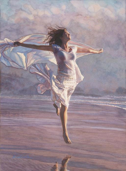 Levántate cada mañana, alza los brazos al cielo y exclama con total sentimiento