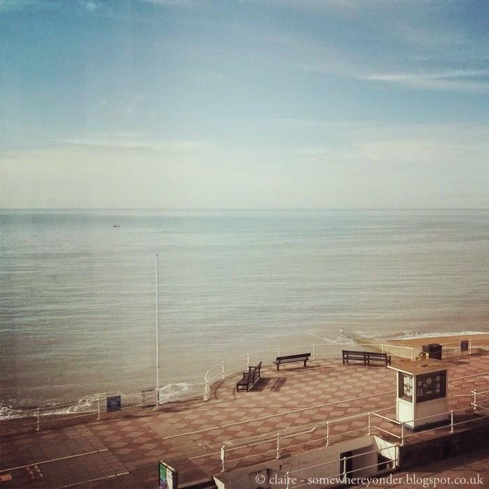 Hastings seaside - England