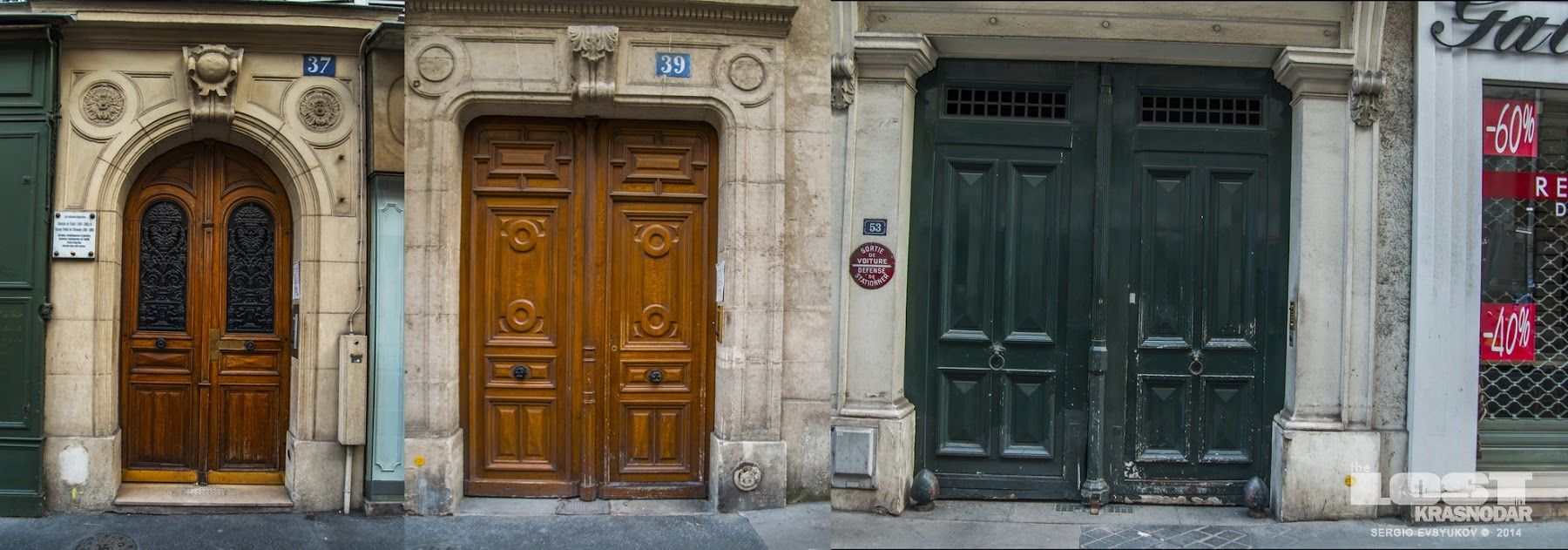 front doors in Paris
