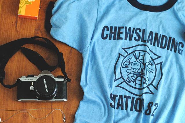 vintage chewslanding t-shirt