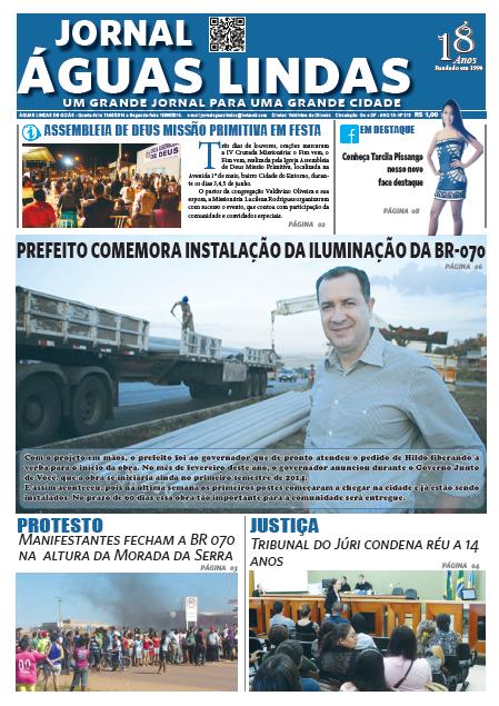 ediçao 215 do Jornal Águas Lindas
