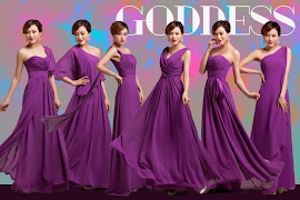 Elegant and Contemporary Dark Purple Bridesmaid Dress
