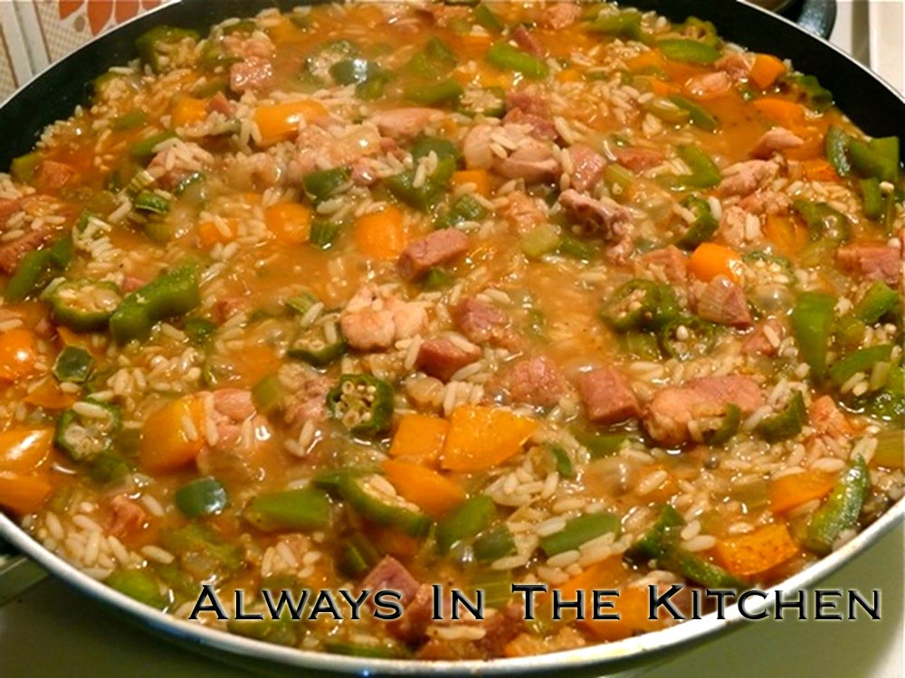 Always in the Kitchen: Cajun Jambalaya with Okra