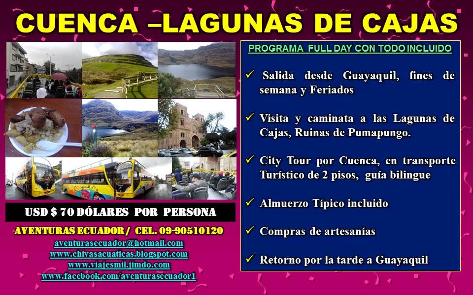 LAGUNAS DE CAJAS, CUENCA