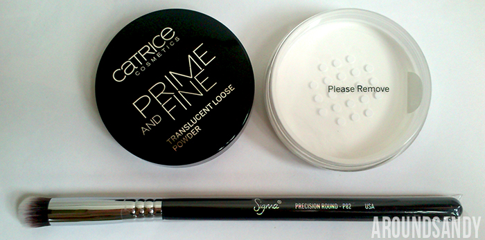 Catrice Prime and Fine polvos translúcidos Sigma p82