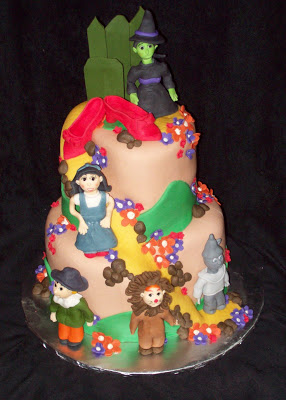 wizard of oz cake by layers of love & 10 Wizard of Oz Birthday Cakes | Everyday Parties