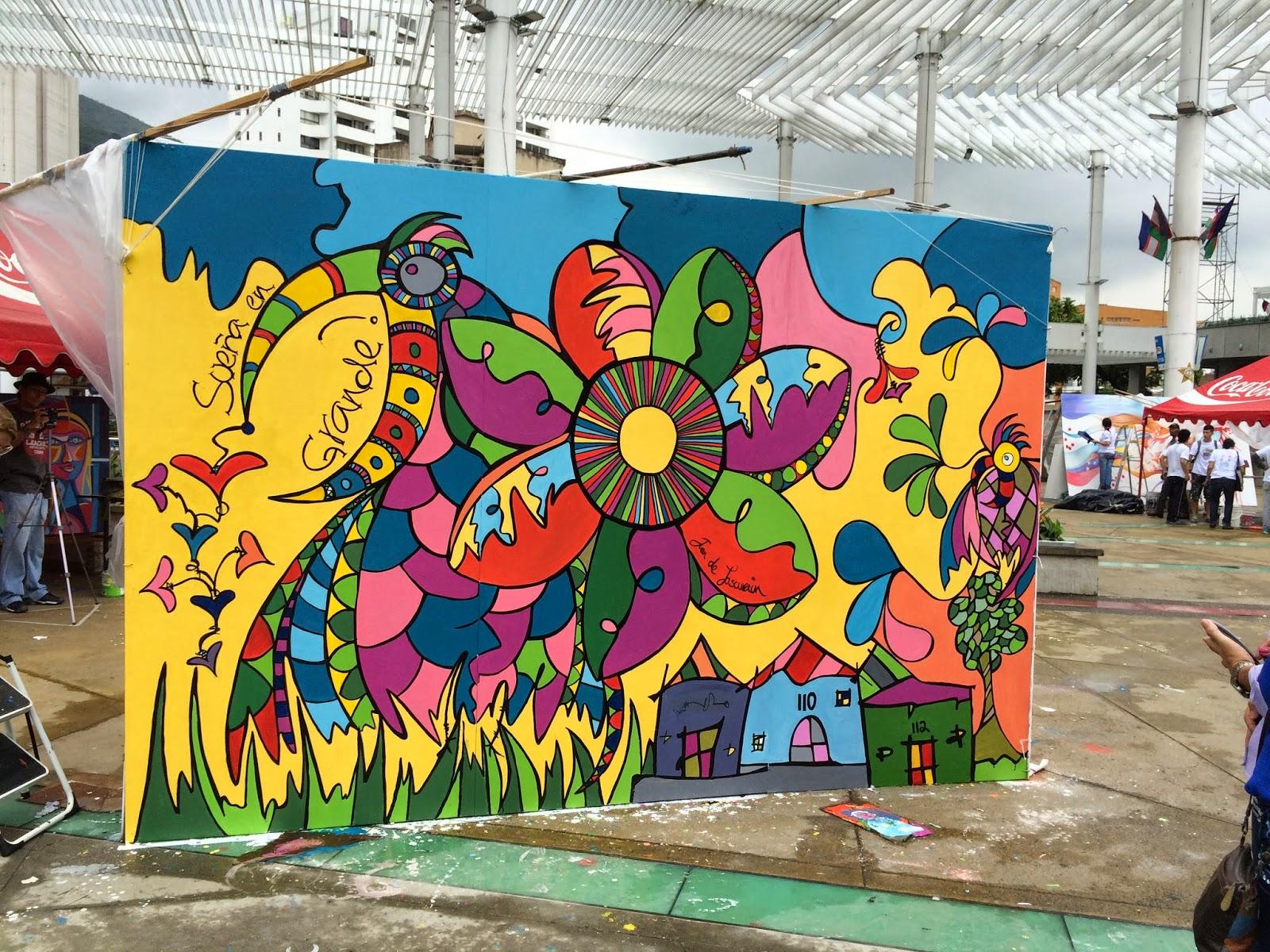mosaico creativo de fj mosaic art ii bienal de muralismo