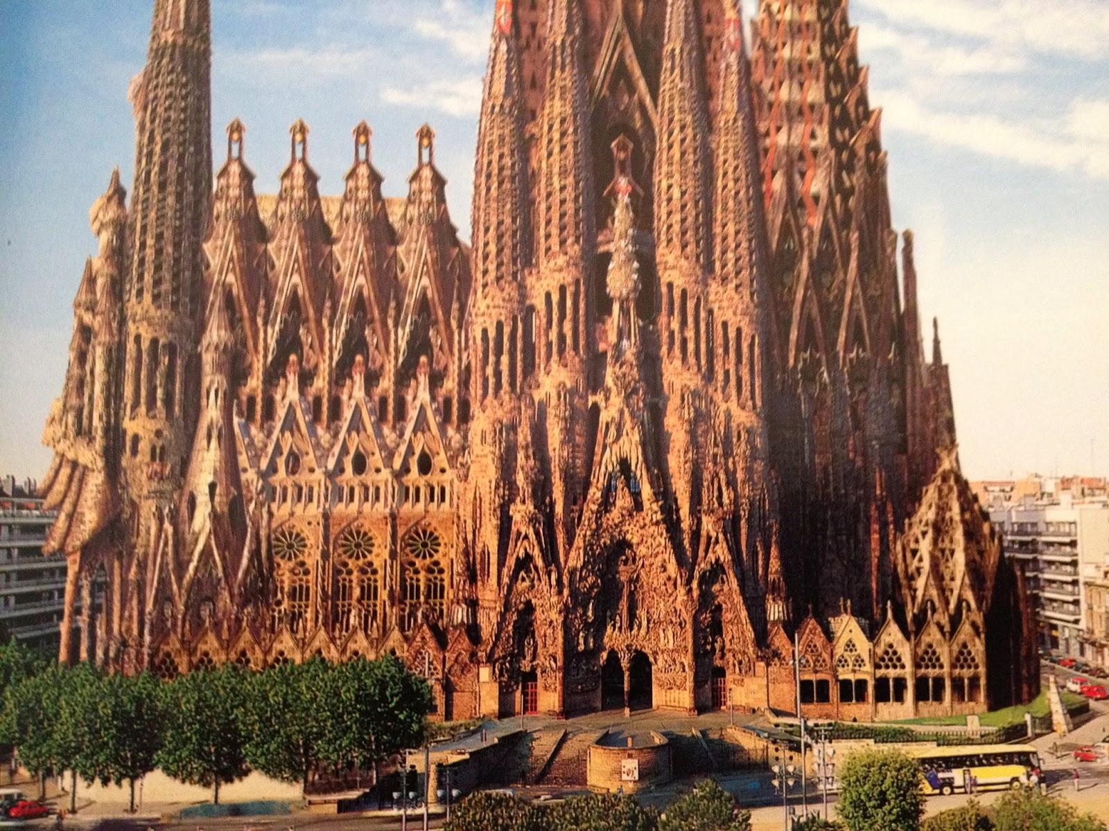 Eugene ray architect antonio gaudi architect for Gaudi kathedrale barcelona