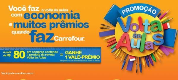 Promoção Volta às Aulas 2015 Carrefour