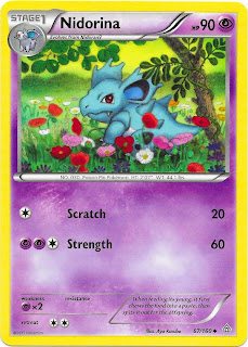 Nidorina Primal Clash Pokemon Card