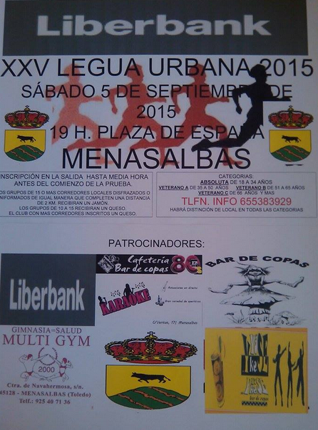 XXV Legua Urbana de Menasalbas