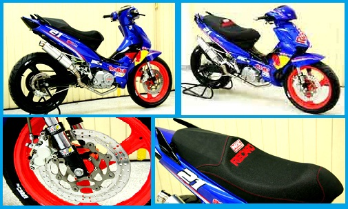 Modifikasi Suzuki Shogun 125_Racing Custom Bike-Gambar Foto Modifikasi