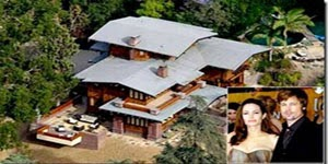 Brad Pitt Home