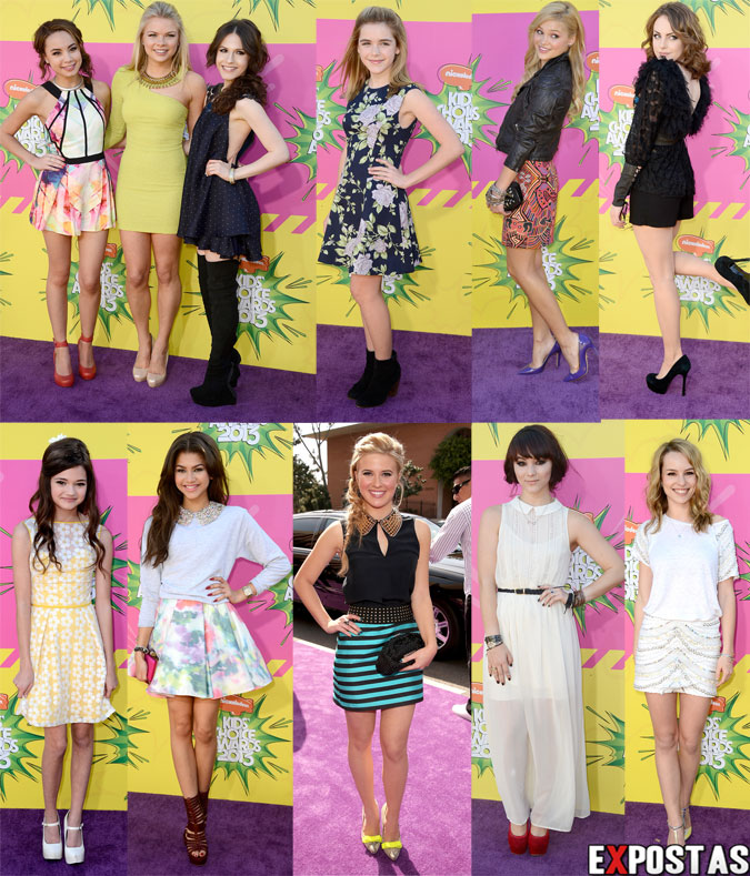 Nickelodeon's 26th Annual Kids' Choice Awards - USC Galen Center em Los Angeles - 23 de Março de 2013