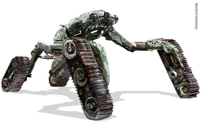 Robopocalypse concept art