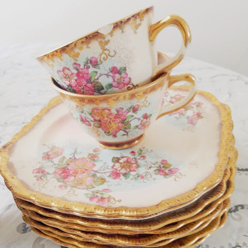 antique vintage tea set - catherine masi